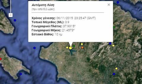Σεισμός 3,9 Ρίχτερ στην Ηλεία