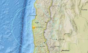 Τα ρίχτερ «ταρακούνησαν» τη Χιλή