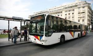 Θεσσαλονίκη: Στις φλόγες λεωφορείο του ΟΑΣΘ που μετέφερε επιβάτες