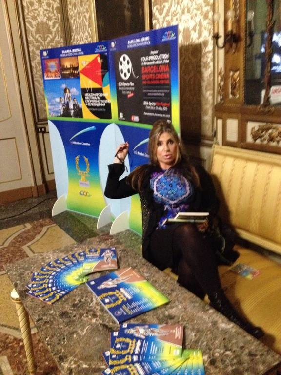 Η Μίνα Παπαθεοδώρου-Βαλυράκη έκανε την έναρξη του 33ου Φεστιβάλ Ficts στο Μιλάνο
