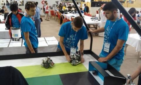 Δεύτεροι στην Ολυμπιάδα ρομποτικής οι μαθητές από την Ξάνθη!
