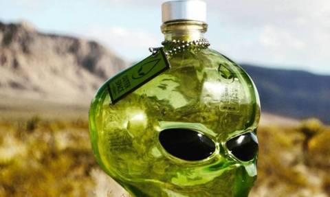 Η βότκα των εξωγήινων πωλείται πλέον και στη Γη