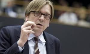 Στην Αθήνα ο Φερχόφσταντ για να συζητήσει τις μεταρρυθμίσεις με τον Τσίπρα