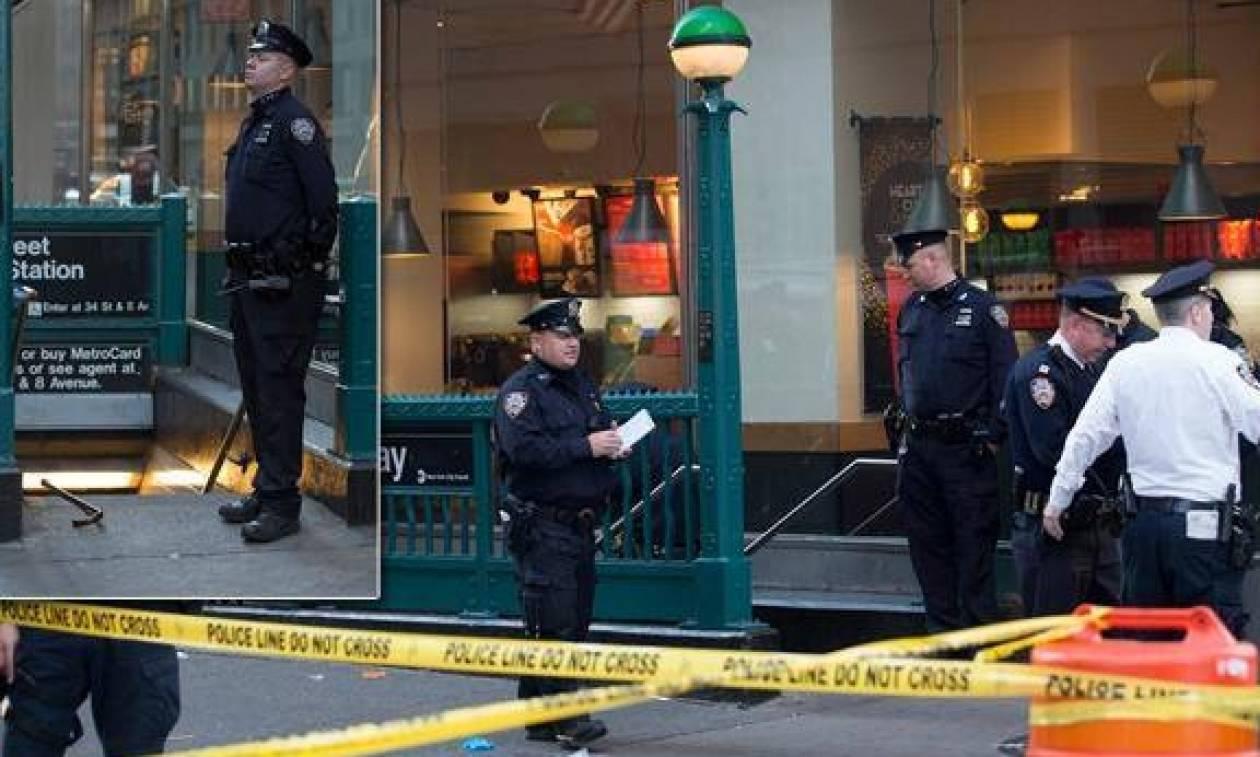 Ένας νεκρός, δύο τραυματίες από πυροβολισμούς στο κέντρο του Μανχάταν (pics&vid)