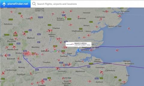 Πτήση της British Ariways προς Αθήνα επιστρέφει στο Λονδίνο λόγω διαροής καυσίμων