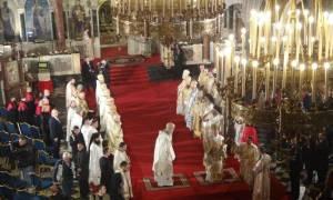 Επίσκεψη του Οικ. Πατριάρχη στην ελληνική κοινότητα στην Σόφια