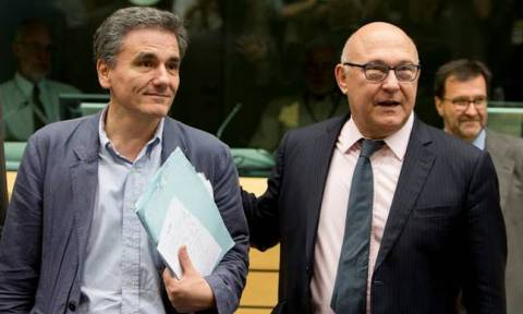 Σαπέν: Πολιτική λύση για την Ελλάδα – Συνάντηση με Τσακαλώτο