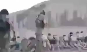 Παγκόσμιο σοκ από τη νέα θηριωδία του ΙΚ: Τζιχαντιστές εκτελούν 200 παιδιά (video)