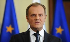 Τουσκ: To μέλλον της Ευρώπης εξαρτάται από τη στάση της Γερμανίας απέναντι στο μεταναστευτικό