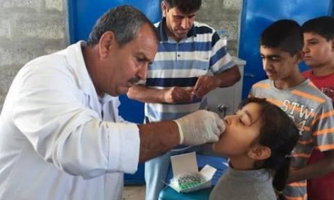 Ιράκ: Εμβολιασμός χιλιάδων προσφύγων για την αποτροπή της εξάπλωσης της επιδημίας χολέρας