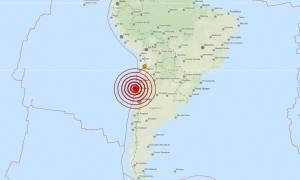 Διπλός ισχυρός σεισμός συγκλόνισε τη Χιλή (pics)
