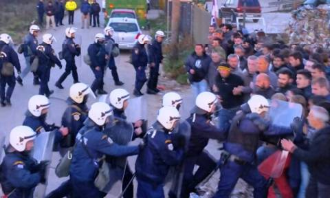 Ιωάννινα: Συλλήψεις για τα επεισόδια στο εργοστάσιο ανακύκλωσης