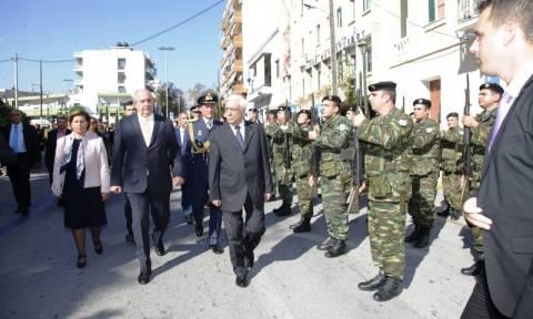 Το μήνυμα του Παυλόπουλου στην Τουρκία από τη Χίο