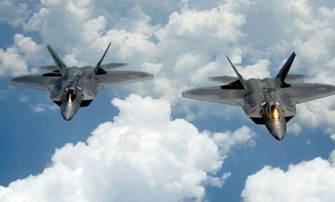 Μαχητικά των ΗΠΑ περιπολούν στον εναέριο χώρο της Τουρκίας