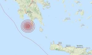 Σεισμός 4,1 Ρίχτερ δυτικά του Γερολιμένα