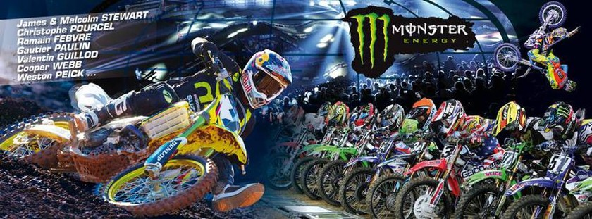 MXGP Γαλλία: Η αφίσα για το Supercross στο Bercy 2015