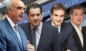 Δημοσκόπηση ΝΔ: Μπροστά ο Μεϊμαράκης, αλλά ποιοτικά καταλληλότερος ο Τζιτζικώστας