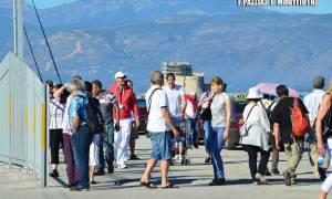 Ναύπλιο: Τα χαμόγελα εκατοντάδων τουριστών πάγωσαν ξαφνικά (photos)
