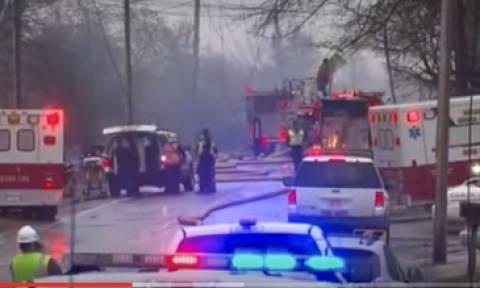 Βίντεο – σοκ: Καρέ – καρέ η πτώση του αεροσκάφους στο Οχάιο
