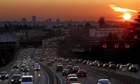 Περιορισμός κυκλοφορίας στο κέντρο της Μαδρίτης λόγω αυξημένων ρύπων