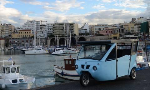 Βγαίνει στην… παραγωγή το ηλιακό αυτοκίνητο της Κρήτης (vid)