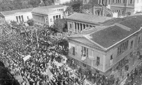 Σαν σήμερα το 1973 ξεκίνησε η κατάληψη στο Πολυτεχνείο