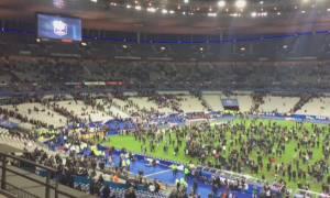 Παρίσι: Η συγκλονιστική στιγμή της έκρηξης μέσα από το Stade de France (video+photo)