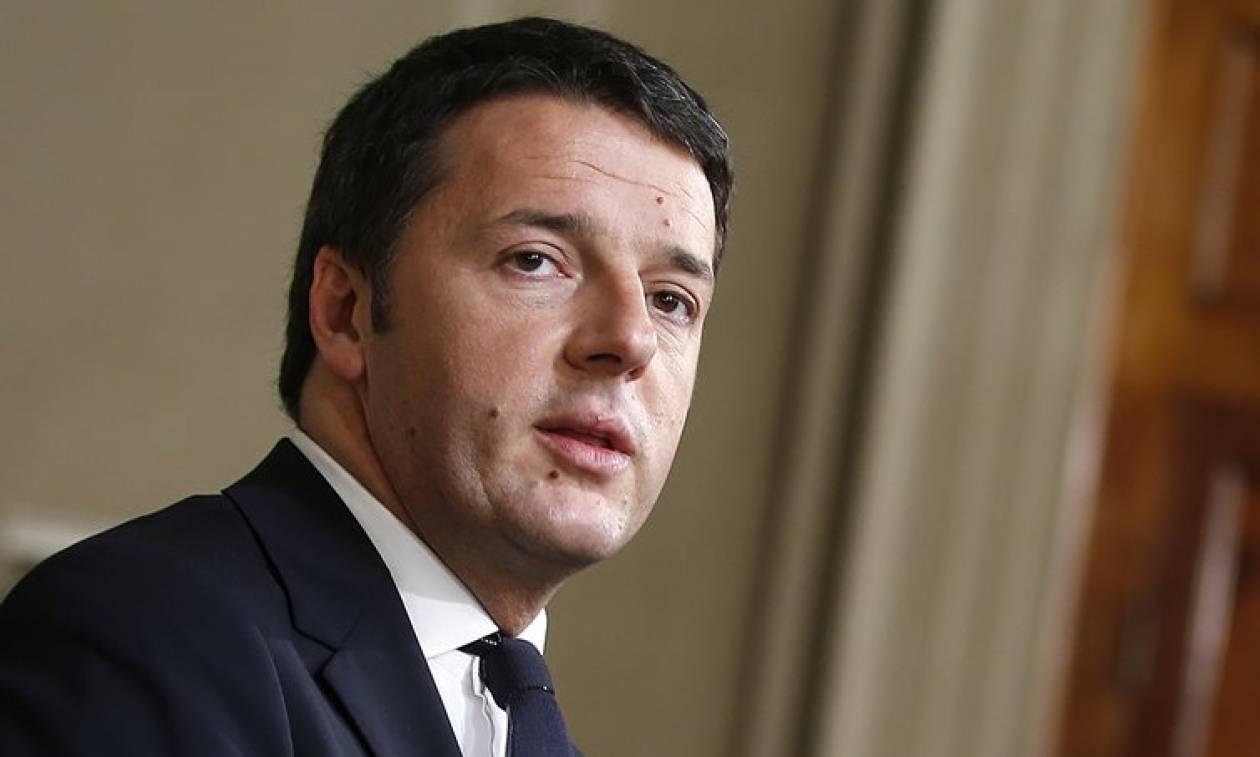 Ρέντσι για Παρίσι: Mαζί με τους Γάλλους αδελφούς μας ενάντια στην τρομερή επίθεση κατά του Παρισιού