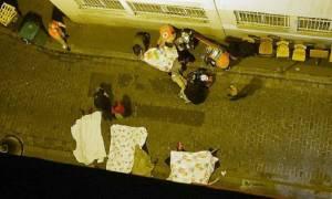 Βίντεο-σοκ από το Μπατακλάν: Κρέμονταν από τα παράθυρα για να σωθούν