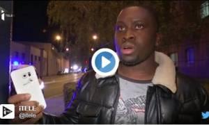 Επίθεση Παρίσι: Άνδρας σώθηκε γιατί η σφαίρα σταμάτησε… στο κινητό του (vid)