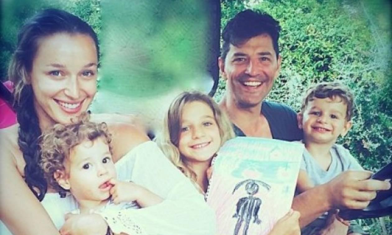 Η Κάτια Ζυγούλη και ο Σάκης Ρουβάς γιόρτασαν τα γενέθλια της μικρής Αναστασίας