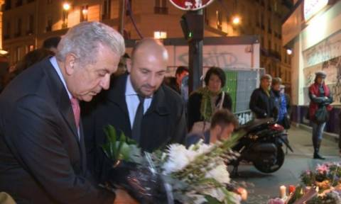 Επίθεση Παρίσι: Στο Μπατακλάν ο Αβραμόπουλος (photos + video)