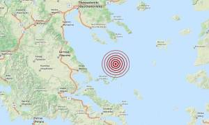 Σεισμός 3,9 Ρίχτερ στις Βόρειες Σποράδες (pic)