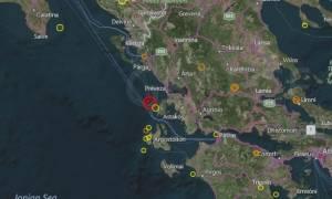 Ισχυρός σεισμός στη Λευκάδα