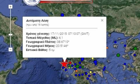 Σεισμός Λευκάδα: «Θα ακολουθήσει έντονη μετασεισμική δραστηριότητα στο επόμενο δίμηνο»