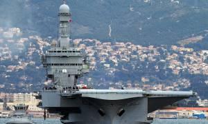 Γαλλικό αεροπλανοφόρο στην ανατολική Μεσόγειο για τις επιχειρήσεις στη Συρία