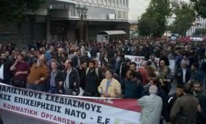 Πορεία Πολυτεχνείου: Στη συγκέντρωση του ΚΚΕ ο Δημήτρης Κουτσούμπας
