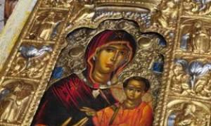 Η Εικόνα της Παναγίας Σουμελά στο Μαρούσι