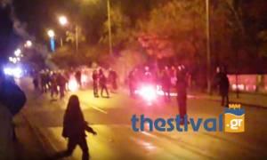 Θεσσαλονίκη: Επεισόδια έξω από την Πολυτεχνική Σχολή του ΑΠΘ (vids)