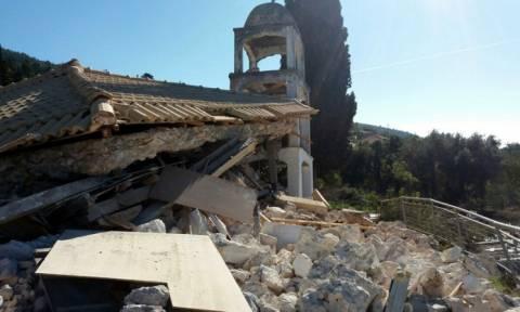 Σεισμός Λευκάδα: Μετράει τις πληγές του το νησί μετά τα 6,1 Ρίχτερ (photos - video)