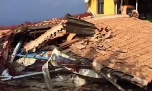 Εκτεταμένες καταστροφές στο Αθάνι