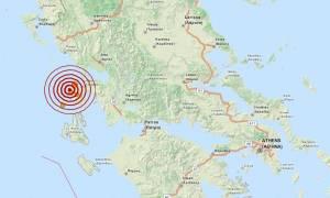 Σεισμός 4,1 Ρίχτερ δυτικά της Λευκάδας (pics)
