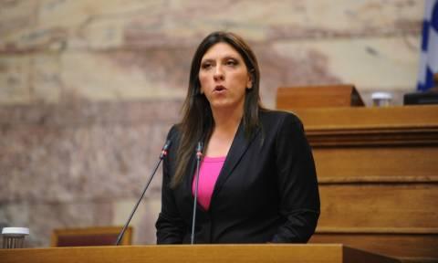 Κωνσταντοπούλου καλεί Σακελλαρίδη: Καταψήφισέ τους, μην παραιτηθείς