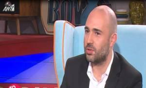 Κωνσταντίνος Μπογδάνος: Αποκαλύπτει πρώτη φορά τον λόγο του χωρισμού του