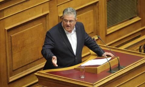 Κουτσούμπας: Παίζετε επικίνδυνο παιγνίδι με την τούρκικη πολιτική