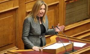 Φώφη Γεννηματά: Αυτή δεν είναι Αριστερά, είναι η κυβέρνηση που θα ξεσπιτώσει τον κόσμο