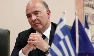 Μοσκοβισί: Ακόμα ένα βήμα μπροστά η ψήφιση του νομοσχεδίου στην Αθήνα