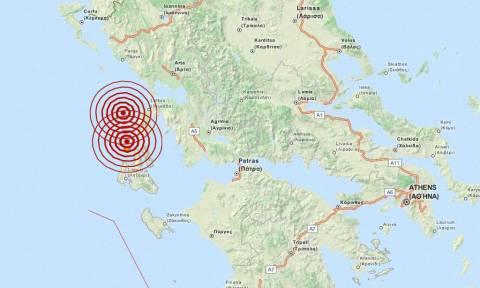 Διπλός σεισμός 4,4 Ρίχτερ στη Λευκάδα (pic)