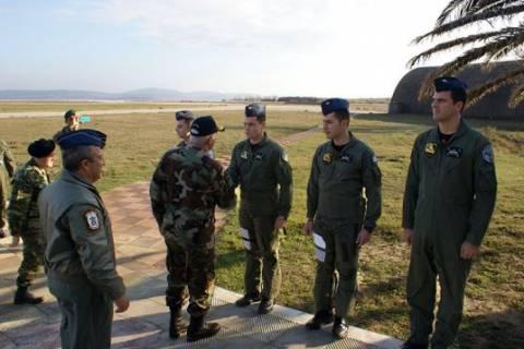 Επίσκεψη Αρχηγού ΓΕΕΘΑ στην 130ΣΜ (pics)