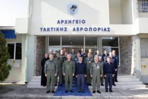 Επίσκεψη Διοικητή CAOC TJ στο στο Αρχηγείο Τακτικής Αεροπορίας (pics)